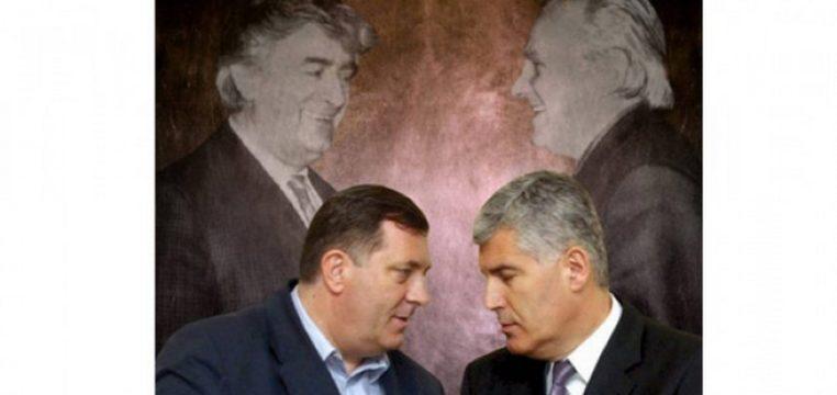 Kao nekad Karadžič i Boban: Dodik i Čović ruše državu BiH ...