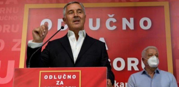 Milo Đukanović nakon izbora u Crnoj Gori Foto: Luka Zeković